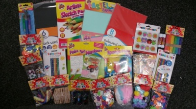 Childrens (Girls or Boys) Craft / Art / Stationery Gift Bundle MK3